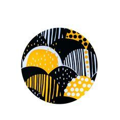 PaaPii Design - Pannunalunen Sato, keltainen