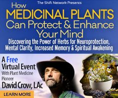 How Medicinal Plants Can Protect & Enhance Your Mind: Discovering the Power of Herbs for Neuroprotection, Mental Clarity, Increased Memory & Spiritual Awakening with David Crow