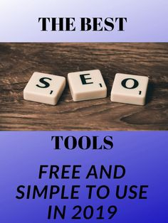 SEO tools are very important for your SEO look at the tools highly recommended