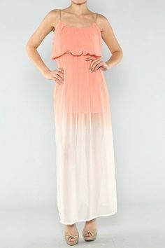 Ombre Maxi Dress by LoveCocoCherice on Etsy, $40.00