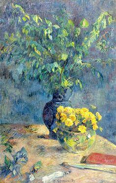 Paul Gauguin 1848 - 1903 Deux Vases...