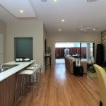 Alkira Homes Display Home @ Homeworld South with timber flooring by Timber  Floors Pty Ltd