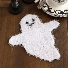 Ghostly Dish Scrubber #makeitcoats