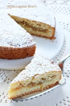 Shrink your URLs and get paid! Italian Pastries, Italian Desserts, Italian Recipes, Apple Recipes, Sweet Recipes, Cake Recipes, Dessert Recipes, Cake Cookies, Cupcakes