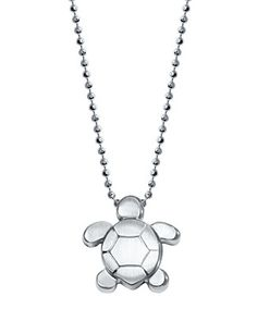 "Alex Woo Little Seasons Sea Turtle Necklace, 16""   Bloomingdale's"