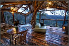The Treehouse and Wollemi Cabins at Bilpin in the Blue Mountains 1.5 hours outside Sydney, Australia | Build It Right, And No Matter How Far Away, They Will Come To Escape To This