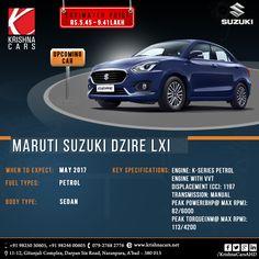 Upcoming Car Maruti Suzuki New Dzire May 2017. #krishnaCar