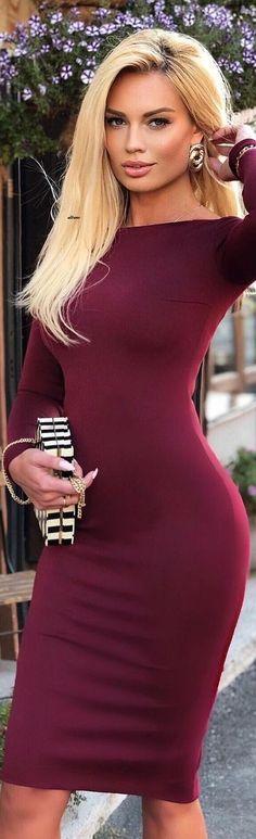 Hispanic Girls, Cute Beauty, Elegant Outfit, Latest Dress, Elegant Woman, White Women, Sexy Outfits, Fashion Dresses, Glamour