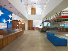 JWT NY by Clive Wilkinson Architects