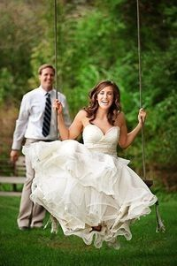 Equally nice idea for wedding or dance