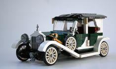 LEGO Ideas - Product Ideas - Rolls-Royce Silver Ghost Auto Lego, Legos, Lego Wheels, Lego Christmas, Lego Builder, Cool Lego Creations, Lego News, Lego Architecture, Lego Design