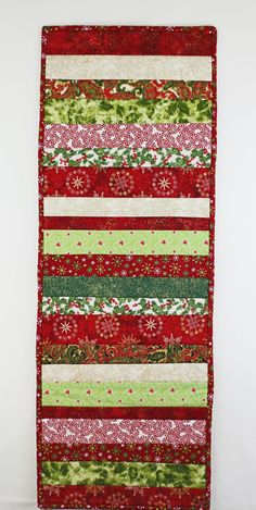 A personal favorite from my Etsy shop https://www.etsy.com/ca/listing/256900835/christmas-table-runner-quilted-table