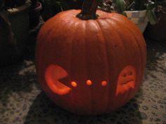 pac man pumpkin - Google Search