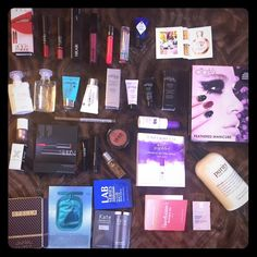 Mixed makeup and skincare lot, NWT This lot contains a mix of 25 brand new/unused sample and full sized items as pictured above. Accepting offers as well as trades. Please let me know if you have any questions about this listing! Thanks for looking :) Sephora Makeup