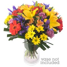 Morgan - The Morgan is a kaleidoscope of colour, featuring mixed flowers creatively arranged with flair and panache.