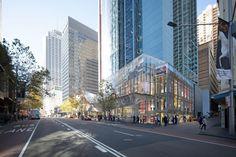 Proposed: Redevelopment of HSBC Podium, George Street, Sydney CBD