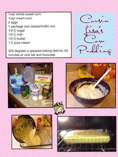 Cousin Lisa's Corn Pudding