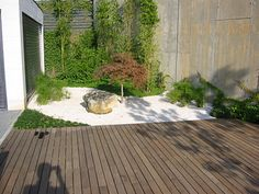 1000 images about jardines on pinterest cactus water - Patios pequenos modernos ...