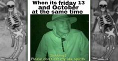 12 Memes For The Spookiest Day of the Year halloween gifs funny Spooktober Memes, Bad Puns, College Humor, One Liner, Hilarious, Funny Stuff, Homestuck, Weird Facts, Memes En Espanol