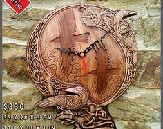 Odin Raven Pagan Symbol Viking Art Plaques Home Decor Norse