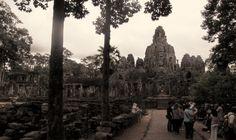 Bayon, Angkor, Cambodge, juillet2013