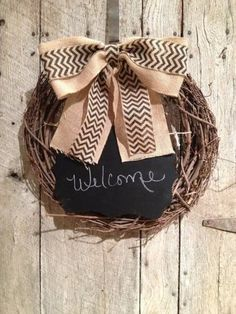 Check out this item in my Etsy shop https://www.etsy.com/listing/213926512/chalkboard-wreath