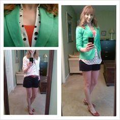 A Peak Inside the paNASH Style Closet: Dressing up casual shorts #paNASHstyle