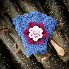 Crochet Brooch and Crochet Cuffs designed and handmade by © Elvira Jane