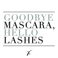 Throw out your mascara. #xtremelashes