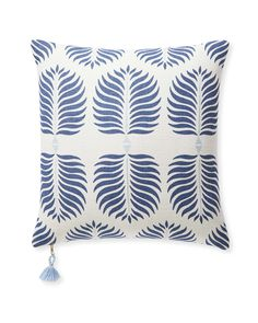 Kess InHouse Amanda Lane Island Blue Aqua Navy 23 x 23 Square Floor Pillow