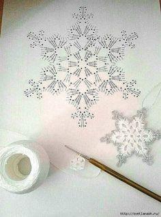 Com Crochet Snowflake Pattern & SkillOfKing.Com The post Crochet Snowflake Pattern & SkillOfKing.Com appeared first on Belle Ouellette. Crochet Snowflake Pattern, Christmas Crochet Patterns, Crochet Stars, Crochet Snowflakes, Holiday Crochet, Thread Crochet, Crochet Motif, Crochet Crafts, Crochet Doilies