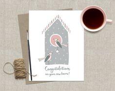 New Home Congratulations Card Housewarming