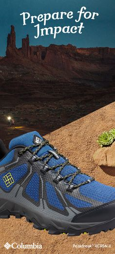 If you're planning a desert backpacking trip, pack shoes that will go the distance. Our Peakfreak™ XCRSN II XCEL Low Hiking Shoes have Techlite™ Cushioning to absorb impact with every stride. When high desert calls, step it up. Best Hiking Pants, Best Hiking Shoes, Men Hiking, Hiking Boots, Espadrilles, Peep Toe, Backpacking Tent, Pacific Crest Trail, Trail Shoes