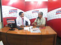 Conversando con Reynaldo Benavides en Canal Exitosa.