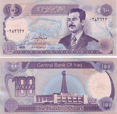 Iraq 1980 P-66b Large size note UNC /> Arabian Horses 25 Dinars