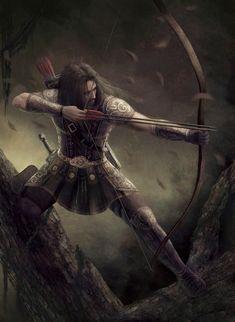 Human Archer Human archer r