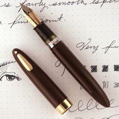 Sheaffer Statesman Tuckaway Fountain Pen Late 1940's 14k Restored