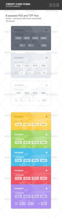 Coreybevan (coreybevan9571) on Pinterest - credit card form