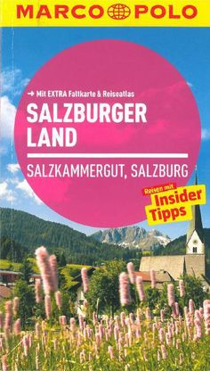 """Marco Polo Cover """"Salzburger Land"""" with our church - nice St. Martin :)"""