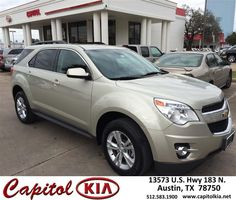 Congratulations to Araceli Hernandez on your #Chevrolet #Equinox purchase from Brian Dean at Capitol Kia! #NewCar