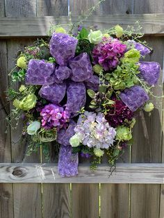 Excited to share this item from my #etsy shop: Purple Floral Wreath, Hydrangea Roses Wreath, Spring Floral Wreath, Mixed Floral Wreath, Moss Wreath #purplefloralwreath #mossfloralwreath #hydreangeas #roses #lavender #mixedflorals #moss #greenery #rosettes #ribbon #bow #homedecor #wallart #shabbychic #spring #summer #bedroom #livingroom #romantic #wedding #shower #birthday #anniversarygift #holidaze #etsy #etsyshop #etsyseller #etsyfinds #instagood #instahome #designer #google #home #wallart #flo