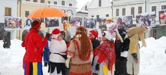 Fašiangy or Winter Carnival Carnival, Hats, Winter, People, Life, Winter Time, Hat, Carnavals, Carnivals