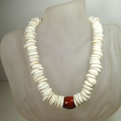 Large Puka Shell Necklace for men
