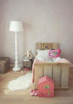 Toddler bed para Isabel!