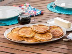 Get Lemon-Ricotta Pancakes Recipe from Food Network