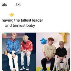 Bts txt having the tellest leader and tinniest baby - iFunny :) O Rico, Cypher Pt 4, Bts Memes Hilarious, Bts Aesthetic Pictures, Seokjin, Namjoon, Taehyung, About Bts, Bts Suga