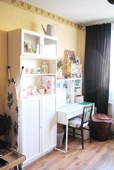 Организация рабочего места: мой опыт - Ярмарка Мастеров - ручная работа, handmade Dit Room Decor, Smart Storage, Sewing Studio, Workplace, Corner Desk, Life Hacks, Palace, Studios, Furniture