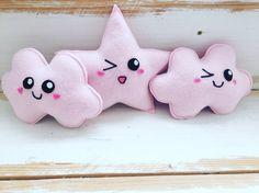 Wink wink in pink #plushies #kawaii #cloud