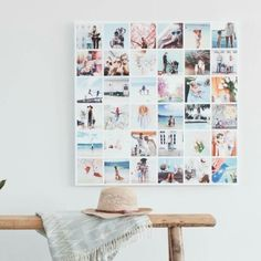 """NEW and Insta Posters. Perfect for any event, gift idea, wedding, or """"vision board"""" - on sale Prints Diy Wall Decor, Diy Home Decor, Room Decor, Photowall Ideas, Instagram Wall, Instagram Feed, House Wall, New Room, Cozy House"""