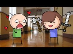 ▶ Assasin's Creeded her way into my room - Video Game Girlfriend - YouTube